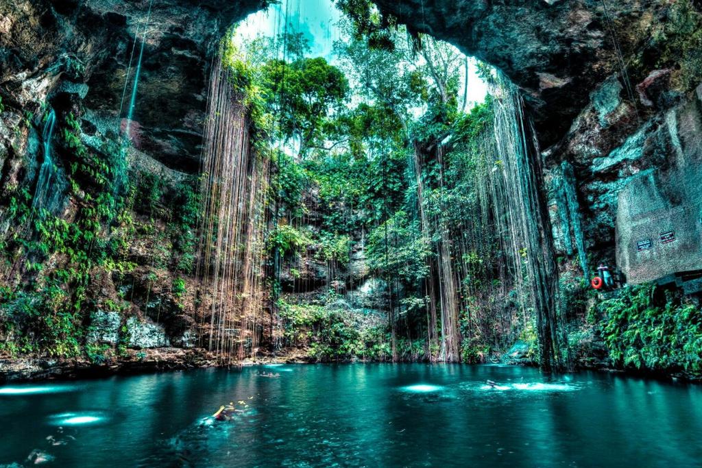 cenote jump